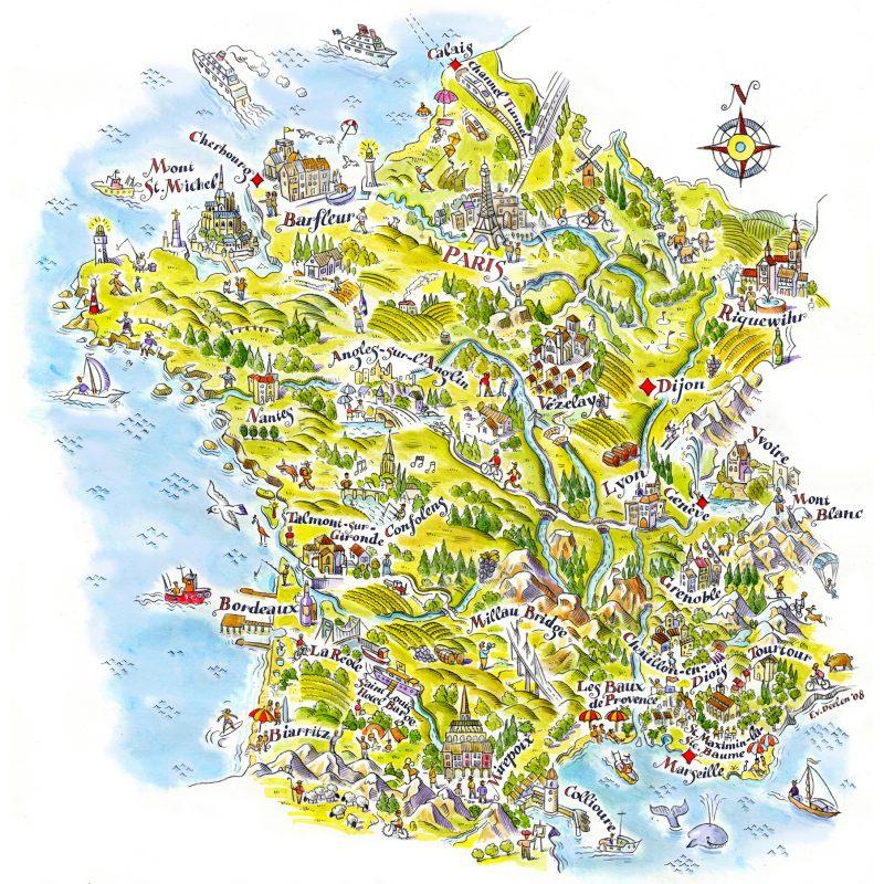 ArtAssociates:Fred:map france