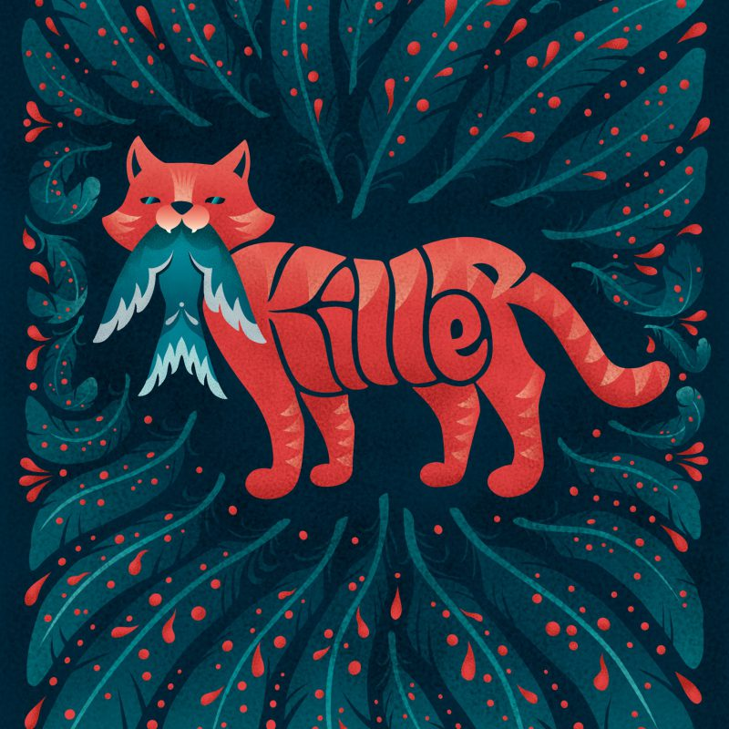 ArtAssociates:illubelle-killer-cat-2020-1900px