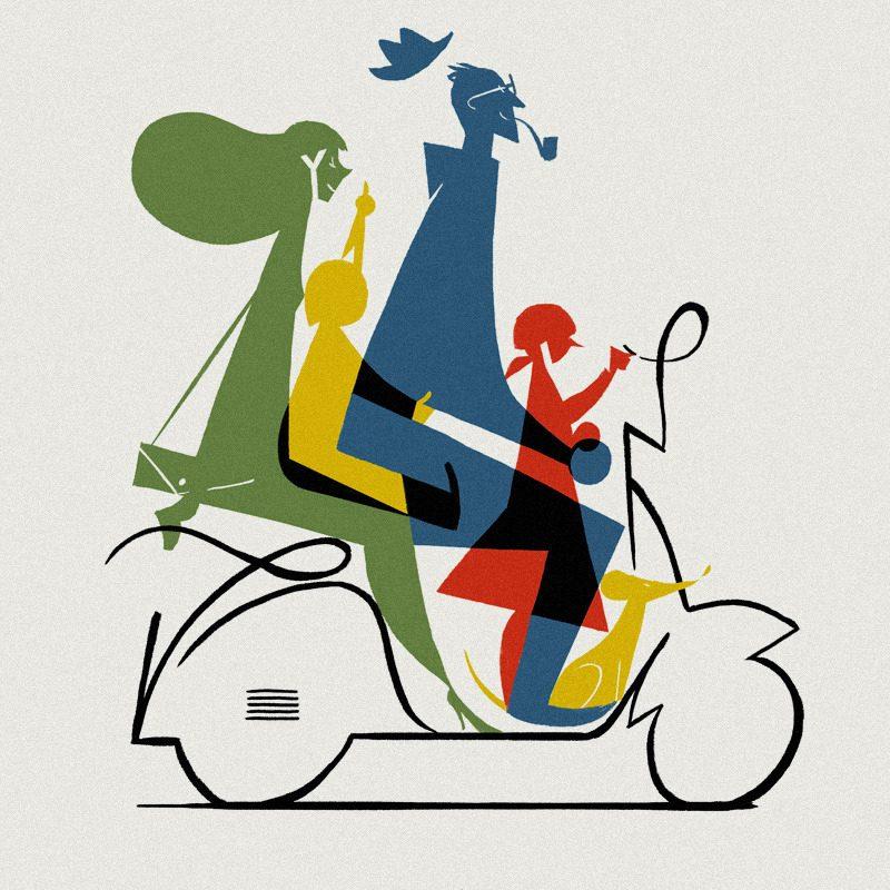 ArtAssociates_RiccardoGuasco_family-scooter